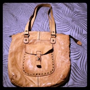 Patricia Nash Distressed Brown Leather Purse